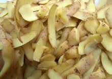 Bucce delle patate: come riciclarle ed utilizzarle in cucina e nelle faccende di casa http://www.trucchidicasa.com/casa/come-risparmiare/come-recuperare-le-bucce-delle-patate/