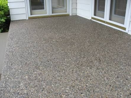 exposed aggregate concrete driveway - Google Search