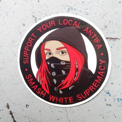 Antifa sticker | Republicans Attack! in 2019 | Political art