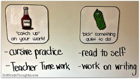 3rd Grade Thoughts: Helpful Parts of Our Schedule & Star Homework Update