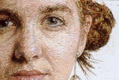 embroidery portraits: amazing