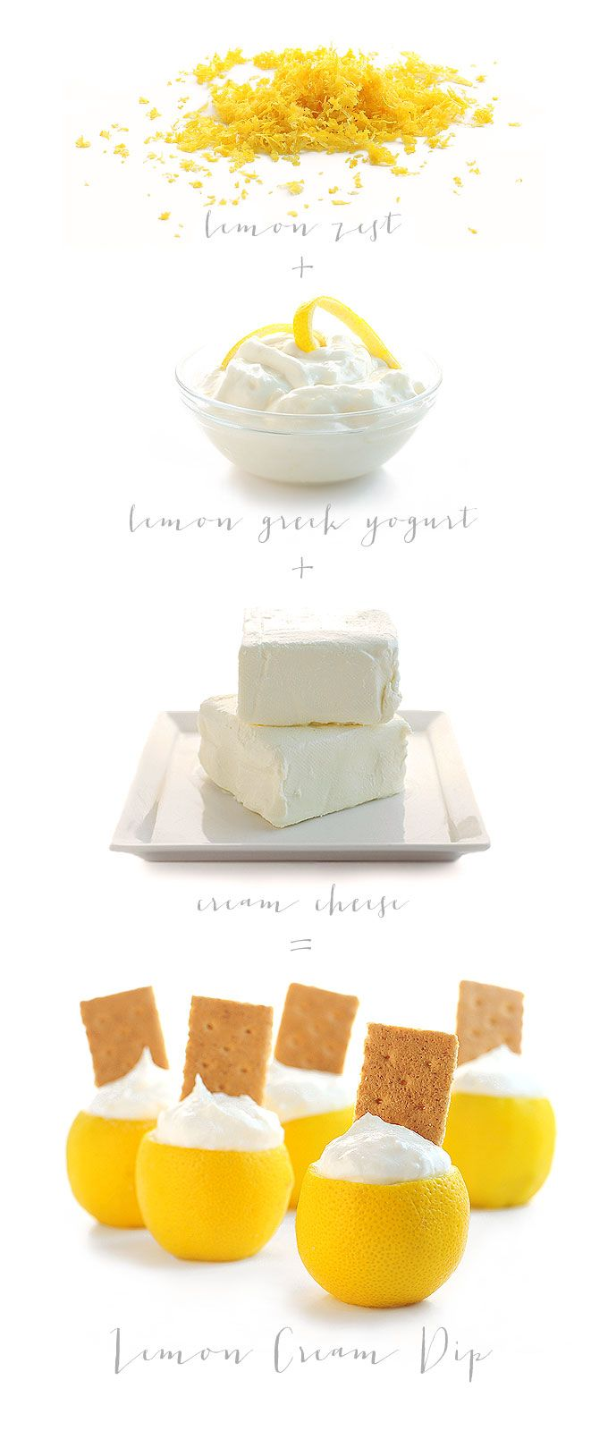 Amy makes everything so beautiful! ::: Easy Lemon Cream Pie Dip Recipe from @Amy Johnson / She Wears Many Hats