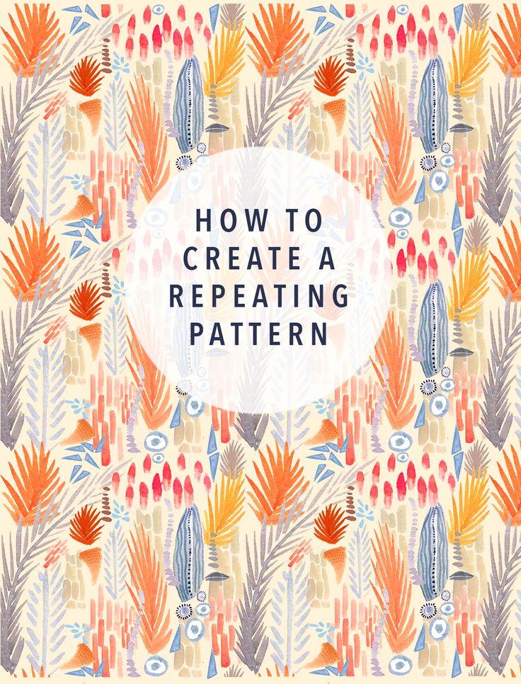 DIY: pattern tutorial