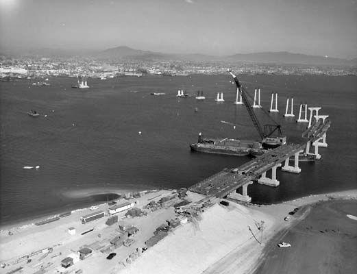 18 best san diego images on pinterest california history san 1969 san diegocoronado bay bridge opens replacing ferry service across san malvernweather Images
