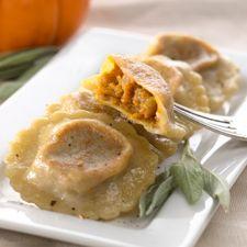 Pumpkin ravioli, Ravioli and Pumpkins on Pinterest