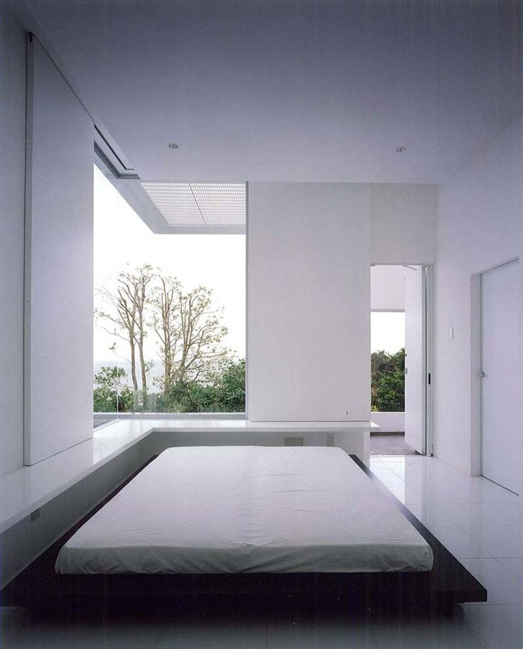 325 best bed images on pinterest bedrooms bedroom and homes for Minimalist house window