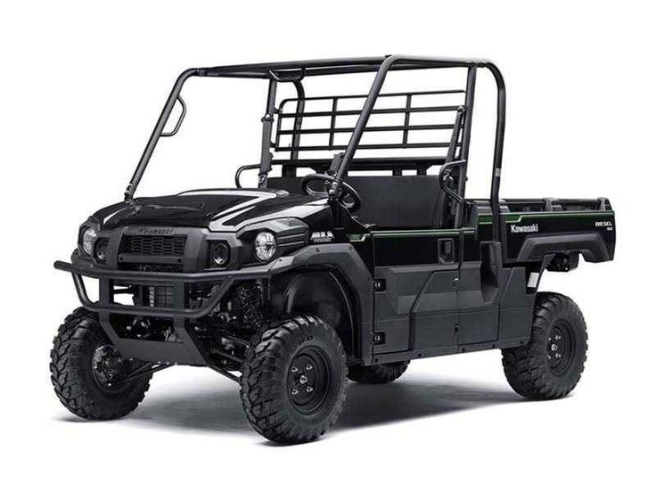 New 2016 Kawasaki Mule Pro-DX EPS ATVs For Sale in Florida. 2016 Kawasaki Mule Pro-DX EPS, THE KAWASAKI DIFFERENCE The Mule PRO-DX EPS is our powerful, most capable, full-size, three-passenger diesel Mule Side x Side yet. This high-capacity diesel Mule has the largest steel cargo bed in its class so you can easily load a full-size wooden pallet (40 x 48 inches) and up to a 1,000-pound payload then close the tailgate for transport. Featuring speed-sensitive EPS that automatically adjusts the…
