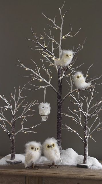 woodland animal christmas tree decorations - Google Search