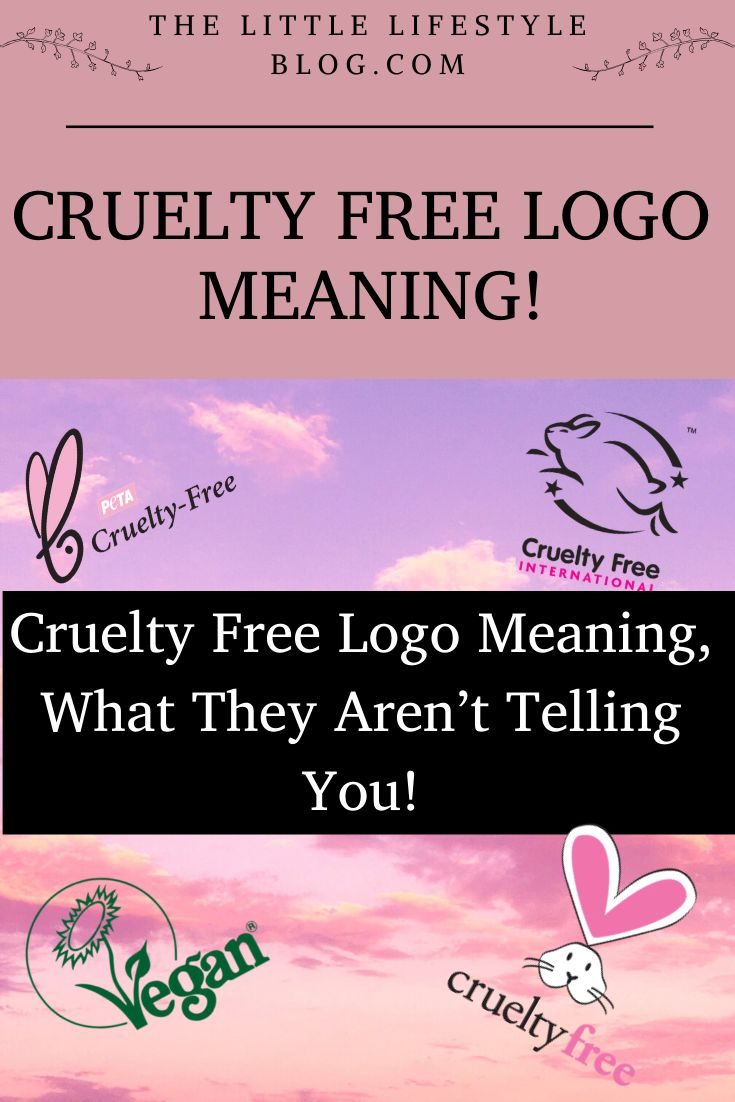 Cruelty Free Logo Meaning, What They Aren't Telling You