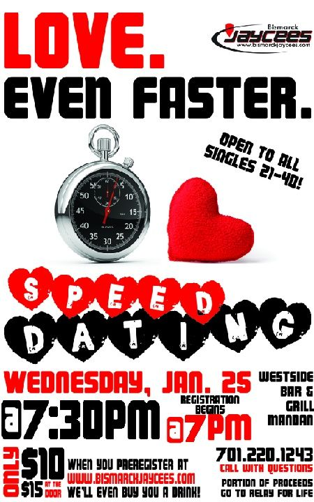 Onspeeddating event planning