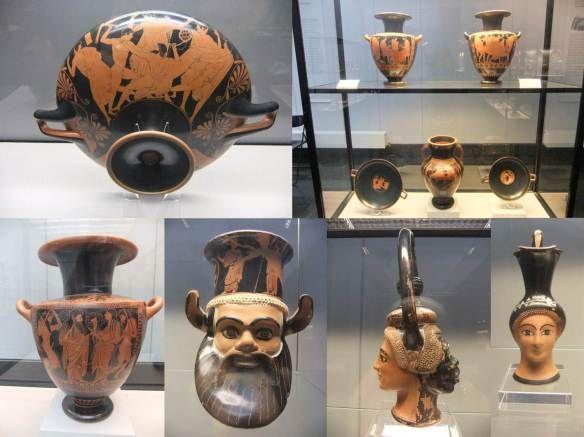 Munique - Staatliche Antikensammlungen - Vasos gregos 2
