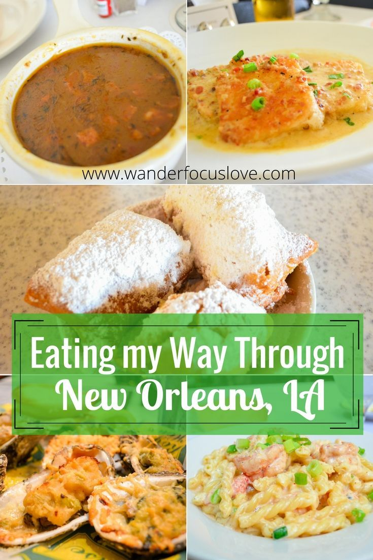 Eating your way through New Orleans, Louisiana should be the best culinary experience you have in America. Try beignets, gumbo, and don't leave without a po-boy!