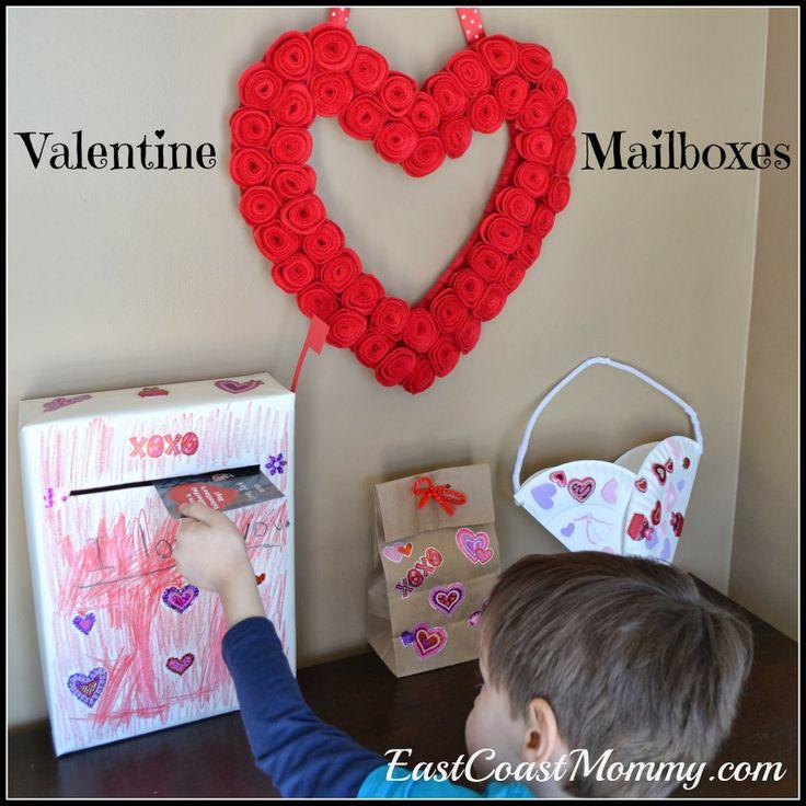Valentine Mailboxes Crafts For Kids Craft Valentine