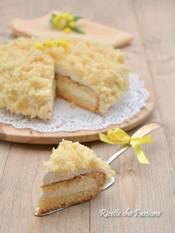 Torta mimosa per tutte le donne un augurio di dolcezza  - Ricette che Passione