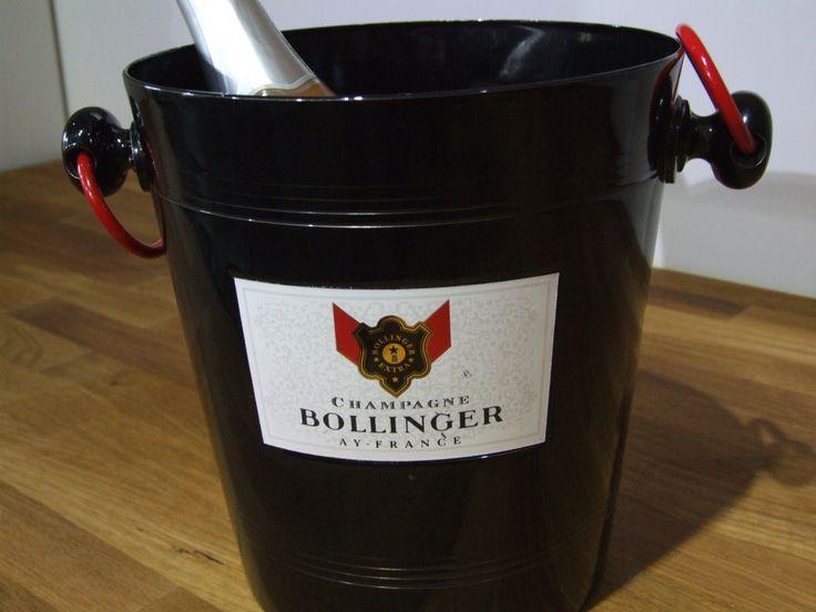 Bollinger Champagne Ice Bucket // Bollinger // Bollinger Champagne // Bollinger champagne ice bucket// Champagne ice bucket - pinned by pin4etsy.com