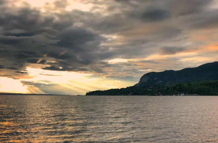 Pacific Northwest Sunset Fort St James British Columbia