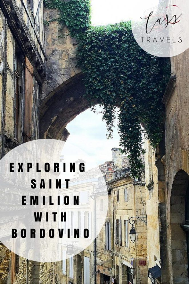 Exploring the beautiful town of Saint-Emilion with Bordovino. This was one of my favourite experiences on my recent trip to France. Read more on the blog at: www.casstravels.com