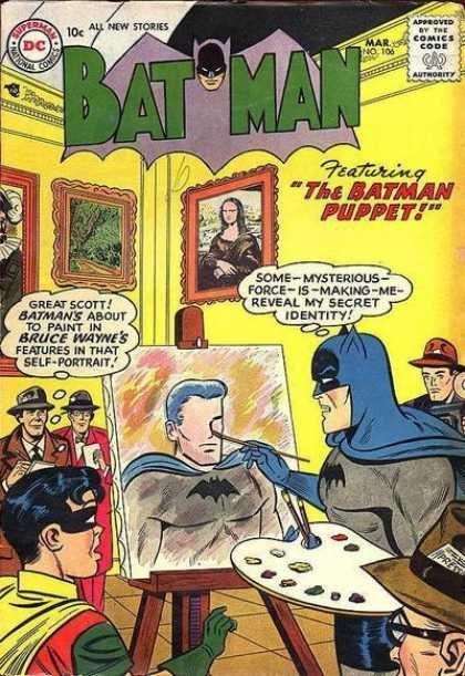 """""""The Batman Puppet!"""""""