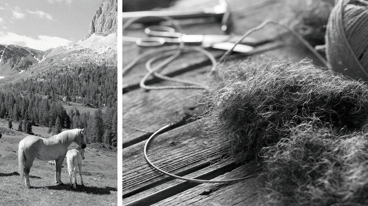 Matratzen aus natürlichen Materialien - DeRoyce: Neben der Baumwolle sind Lagen aus feinstem Rosshaar unverzichtbare Bestandteile einer DeRoyce Matratze. [...]