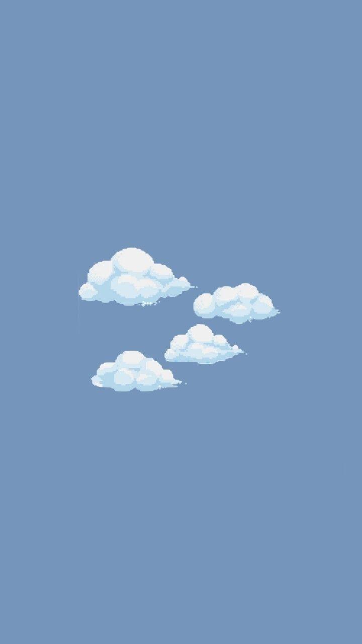 Pin By مهرنوش كنگرلو On W A L L P A P E R S Pastel Iphone Wallpaper Cute Simple Wallpapers Simple Iphone Wallpaper Aesthetic pastel ipad wallpaper blue