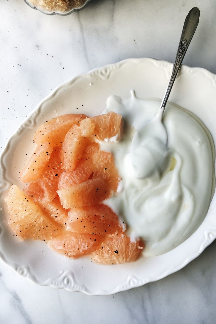 Black Pepper, Grapefruit & Yogurt | for the love of the south