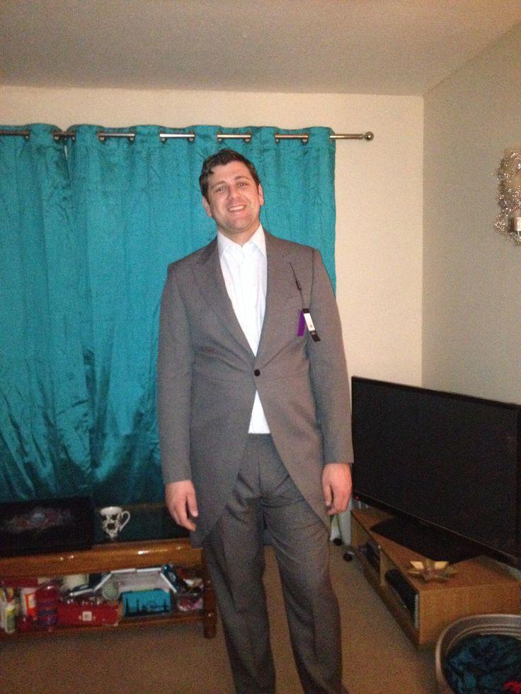 My groom in his suit x