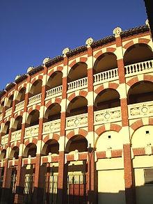 Zaragoza, Spain. Plaza de Toros de la Misericordia