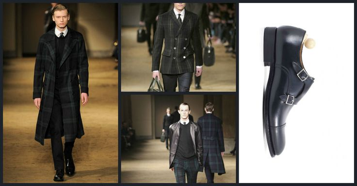 Shoes to wear tartan: the new dandy revalues the tartan patterns