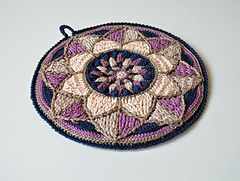 Ravelry: Stained Glass Mandala Potholder pattern by Lilla Björn Crochet