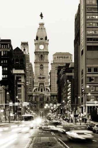 "Broad Street and Philadelphia City Hall in Center City - 24""H x 16""W - Peel and Stick Wall Decal by Wallmonkeys by Wallmonkeys Wall Decals, http://www.amazon.com/dp/B0080KR48I/ref=cm_sw_r_pi_dp_Rkj8pb0B6X1NZ"