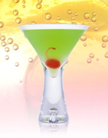 Japanese Slipper      30mL Midori Liqueur     30mL Cointreau Liqueur     30mL lemon juice