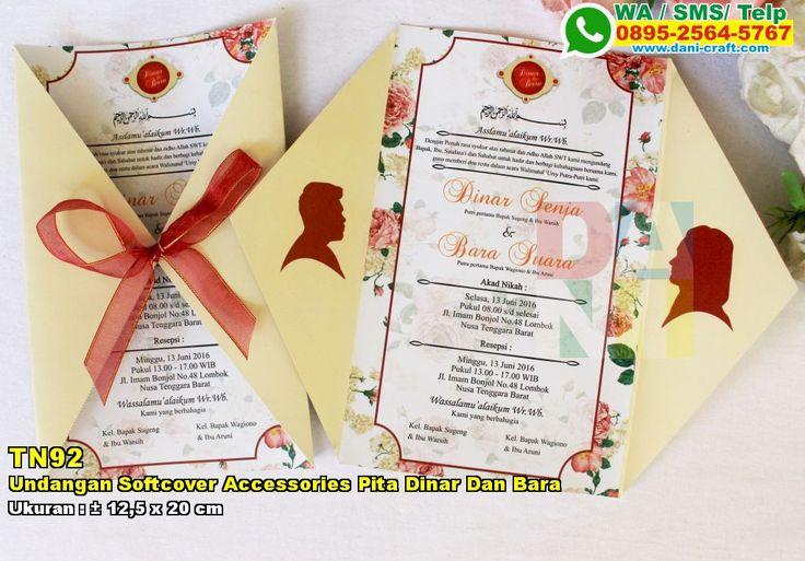 Undangan Softcover Accessories Pita Dinar Dan Bara WA/SMS/TELP: 0896-3012-3779 #UndanganSoftcover #PabrikSoftcover #SouvenirPernikahanMurah