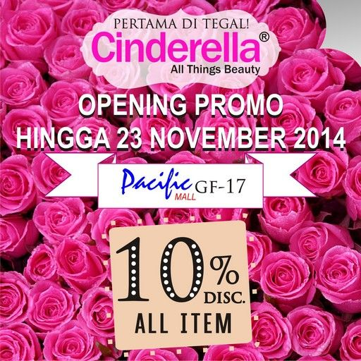 Opening Soon at Pacific Mall Tegal .........