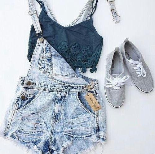 overalls.