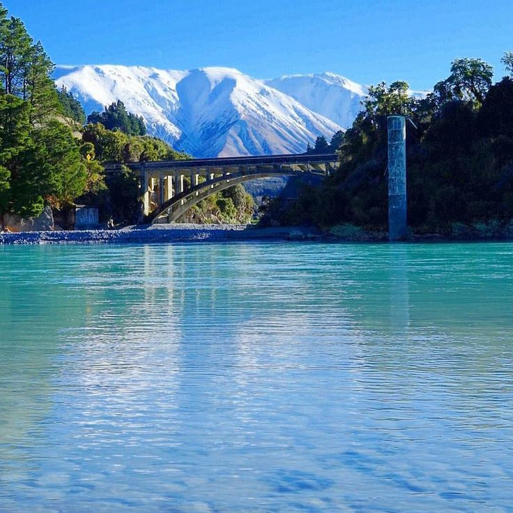 Rakaia Gorge Walkway, Methven, New Zealand Photo By