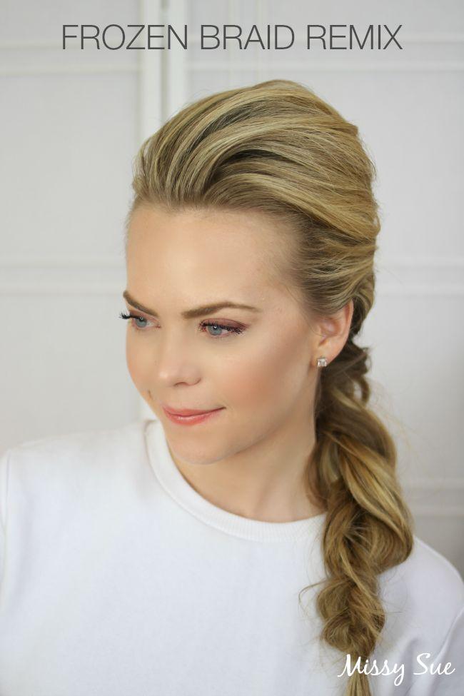 1000+ ideas about Frozen Braid on Pinterest - Frozen hair, Frozen ...