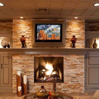 basement fireplace design pictures remodel decor and ideas