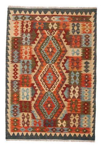 kilim - Kilim Afegão 149x103 cm.