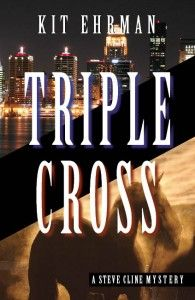 Triple Cross is one of several horse-racing mysteries by local author Kit Ehrman.