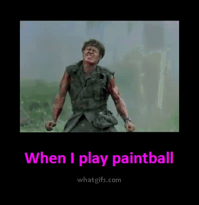 paintball quote image | Funny Paintball
