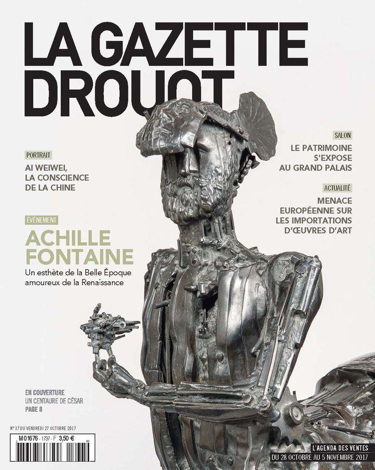 Gazette Drouot n° 37 du 27 octobre 2017 #Centaure #César #Picasso #WebZine #artmarket
