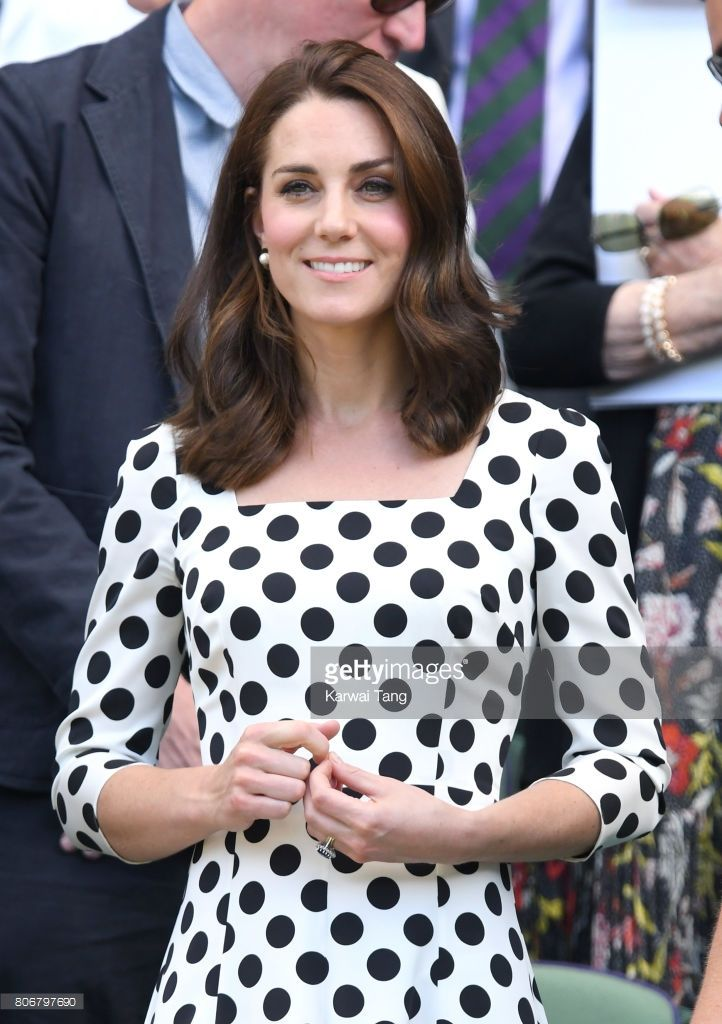 News Photo : Catherine, Duchess of Cambridge attends day one...