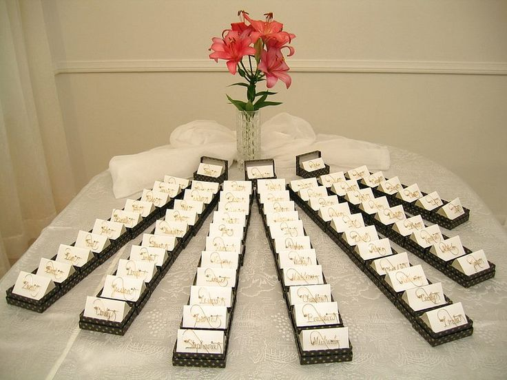 Wedding Table Gifts for Guests