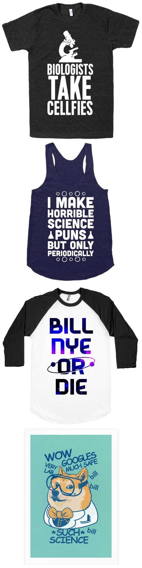 If you love everything science, this collection is for you. It's also a perfect gift for the favorite geek in your life.
