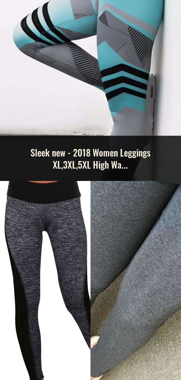 29ae31fcb8 2018 Women Leggings XL,3XL,5XL High Waist Jeans Leggins With Buttons ...