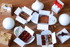 Petites boîtes pour cadeaux gourmands (avec gabarits) - Yummix !