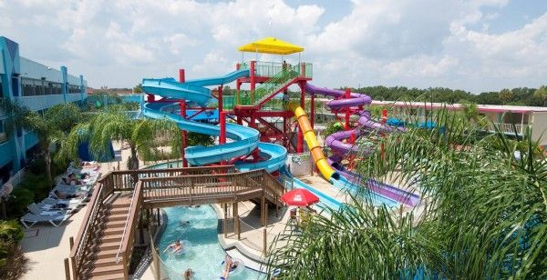 Flamingo Waterpark Resort, Киссимми, штат Флорида - блоги путешественников и туристов. #travel #travelling #traveltipz #waterpark #USA