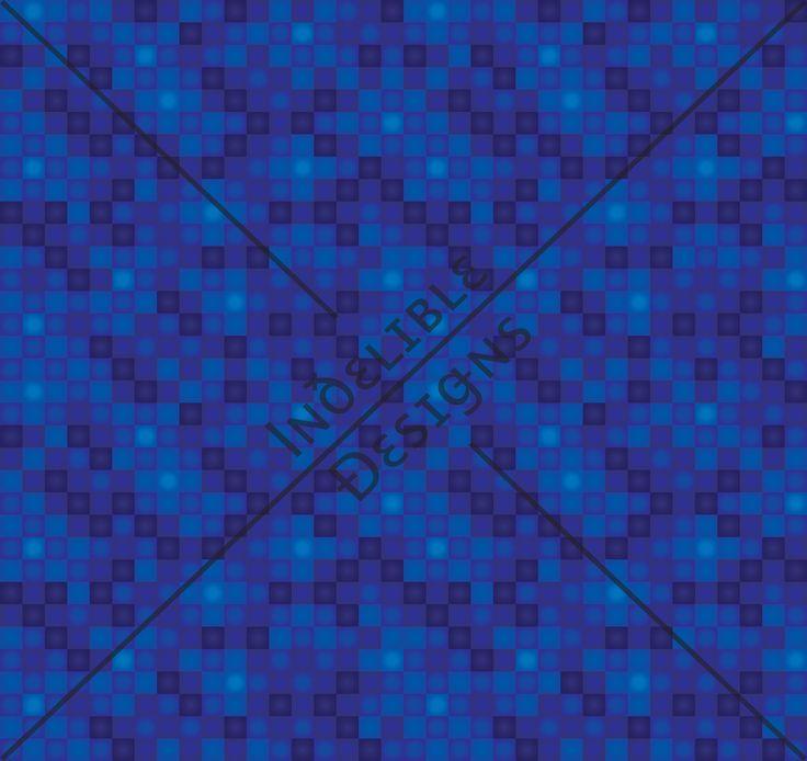 ID#34CE — Iɴðɛʟɪʙʟɛ Ðɛsɪǥɴs #digitalprint #printdesign #textiledesign #textileprint #layer #random #line #linear #square #shape #navy #blue #turquoise #tile #tileprint #fade