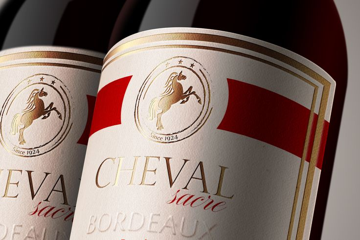 "Check out my @Behance project: ""Wine label - CHEVAL SACRE"" https://www.behance.net/gallery/36618013/Wine-label-CHEVAL-SACRE"