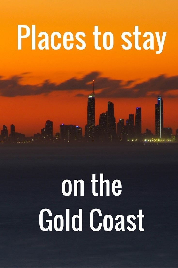 14 Places to Stay on the Gold Coast in Queensland, Australia - from budget to luxury!
